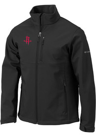 Houston Rockets Columbia Ascender Medium Weight Jacket - Black