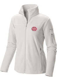Alabama Crimson Tide Womens Columbia 2020 Football National Champions Give Go Full Zip Jacket - White