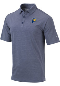 Indiana Pacers Columbia Sunday Polo Shirt - Navy Blue