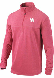 Houston Cougars Columbia Soar 1/4 Zip Pullover - Red
