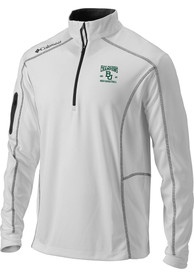 Baylor Bears Columbia 2021 National Champions 1/4 Zip Pullover - White