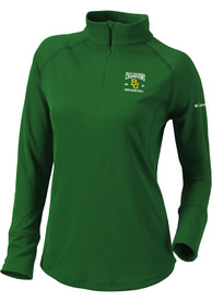 Baylor Bears Womens Columbia 2021 National Champions Flop Shot Pullover - Green