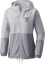 Baylor Bears Womens Columbia 2021 National Champions Flash Forward Light Weight Jacket - White