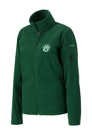 Columbia Northwest Missouri State Bearcats Womens Green Give Go Light Weight Jacket