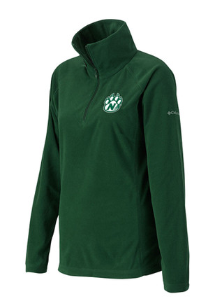 Columbia Northwest Missouri State Bearcats Womens Glacial Green 1/4 Zip Pullover