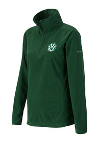 Northwest Missouri State Bearcats Womens Columbia Glacial 1/4 Zip Pullover - Green