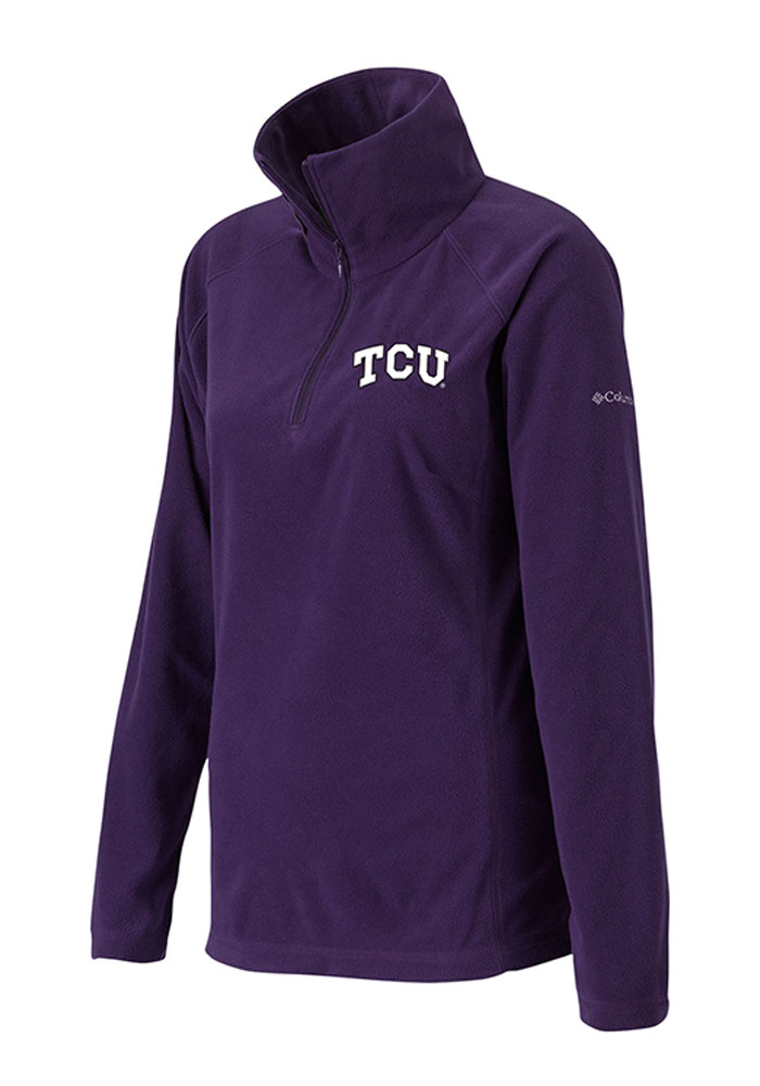TCU Horned Frogs Womens Glacial Purple 14 Zip Pullover 20720016