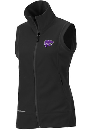 Columbia K-State Wildcats Womens Black Give N Go Vest