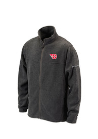 Columbia Dayton Flyers Mens Grey Flanker II Light Weight Jacket