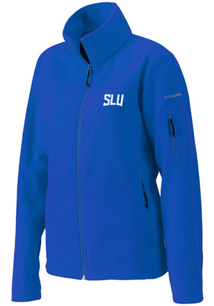 Columbia Saint Louis Billikens Womens Blue Give and Go Light Weight Jacket