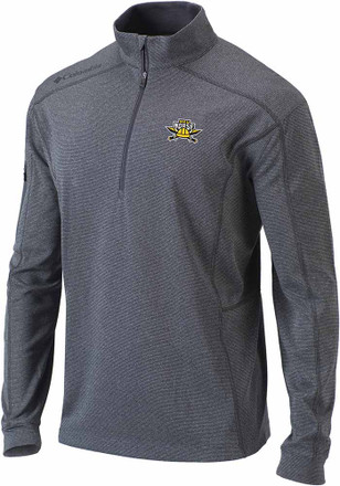 Columbia Northern Kentucky Norse Mens Grey Shotgun 1/4 Zip Pullover