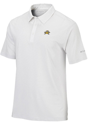 Columbia Northern Kentucky Norse Mens White Sunday Short Sleeve Polo Shirt