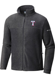 Texas Rangers Columbia Flanker Light Weight Jacket - Charcoal