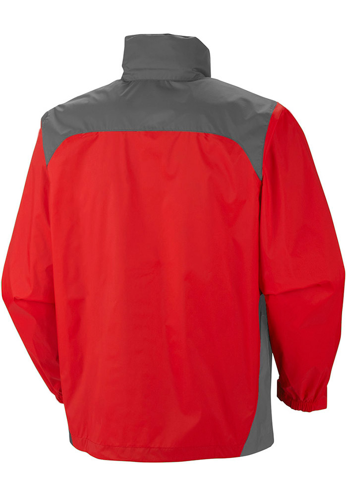 Columbia Texas Rangers Mens Red Glennaker Lake Light Weight Jacket - Image 2