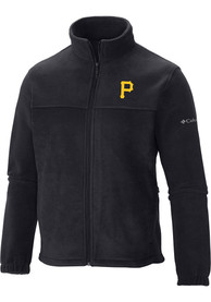 Pittsburgh Pirates Columbia Flanker Light Weight Jacket - Black
