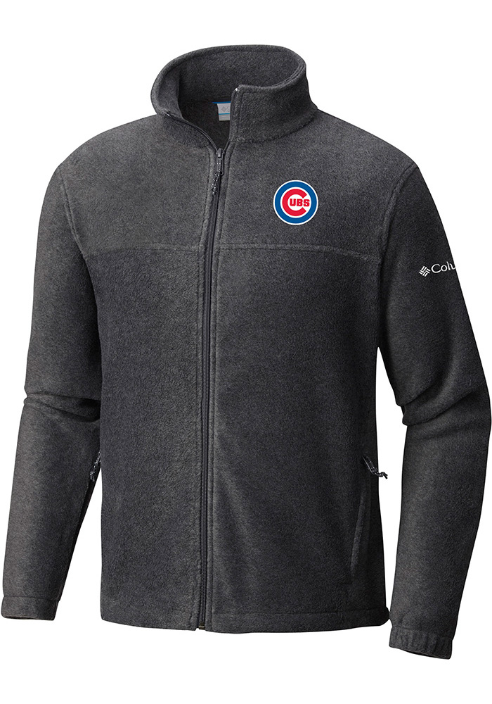 Columbia Chicago Cubs Mens Grey Flanker Light Weight Jacket - Image 1