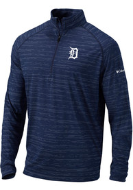 Columbia Detroit Tigers Blue Approach 1/4 Zip Pullover