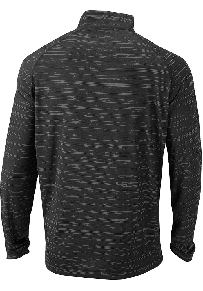 Columbia Sporting Kansas City Mens Black Approach Long Sleeve 1/4 Zip Pullover - Image 2