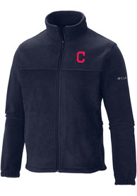 Cleveland Indians Columbia Flanker Medium Weight Jacket - Navy Blue