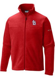 St Louis Cardinals Columbia Flanker Light Weight Jacket - Red