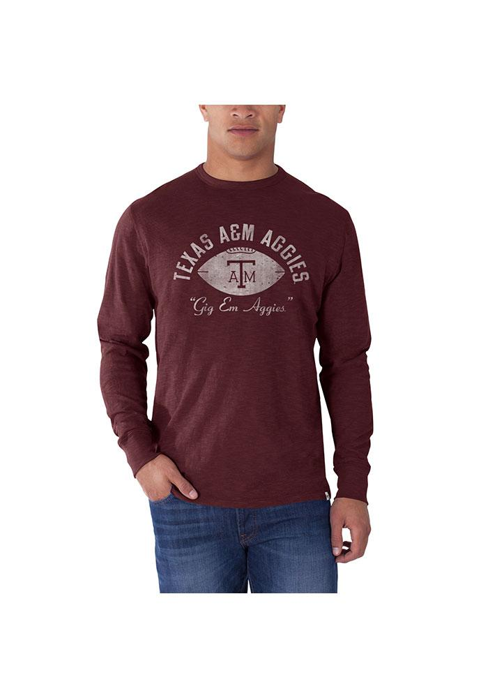 47 Texas A&M Aggies Maroon Football Fashion Tee