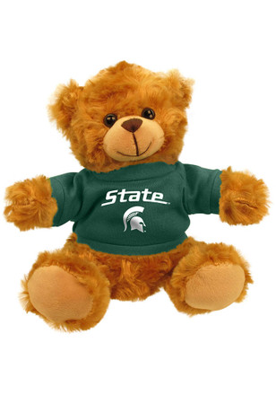 Michigan State Spartans Jersey Bear Plush