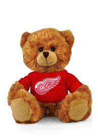 Detroit Red Wings Jersey Bear Plush