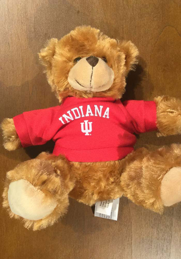 Indiana Hoosiers 6 Inch Jersey Bear Plush - Image 1