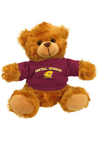 Central Michigan Chippewas 6 Inch Jersey Bear Plush
