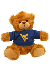 West Virginia Mountaineers 6 Inch Jersey Bear Plush