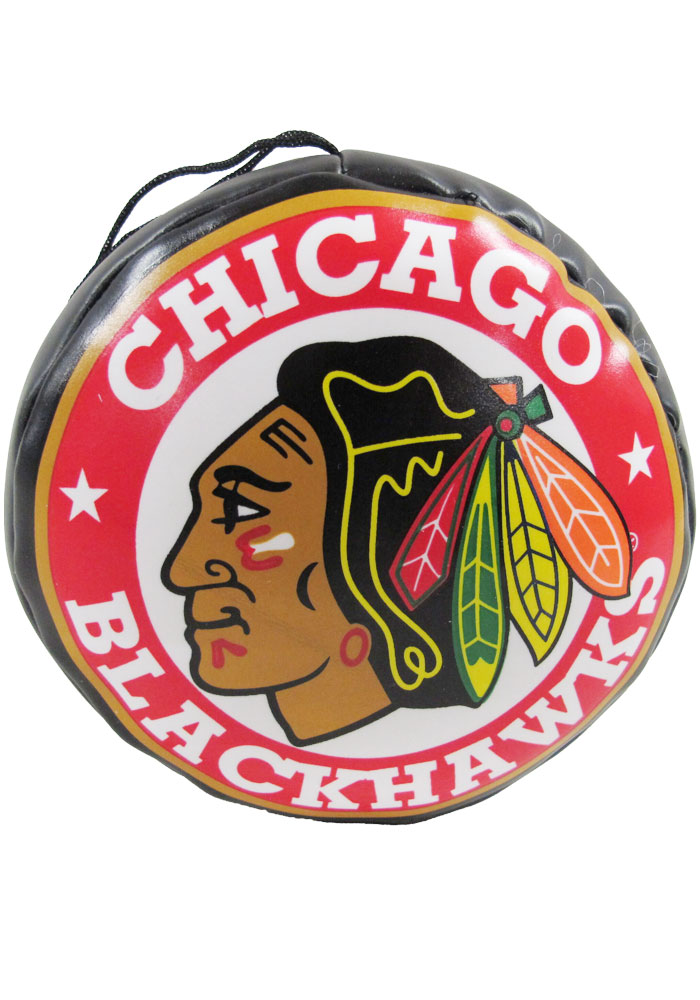 Chicago Blackhawks Hockey Puck Plush
