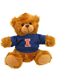 Illinois Fighting Illini 6 Inch Jersey Bear Plush