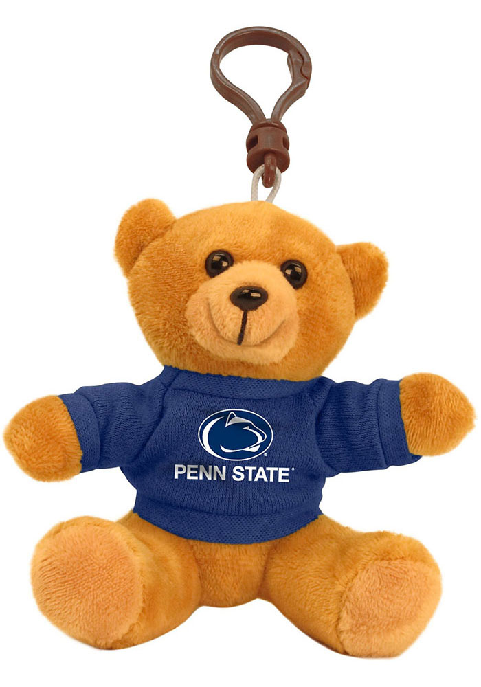 Penn State Nittany Lions 4 Inch Bear Keychain