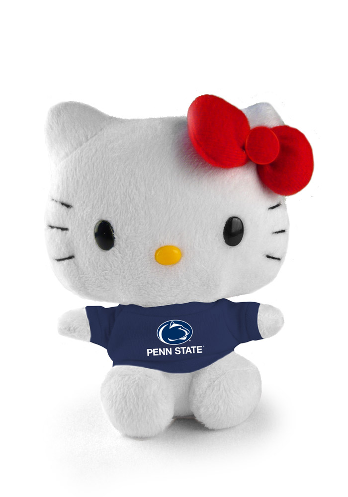 Penn State Nittany Lions 6 Inch Hello Kitty Plush - Image 1