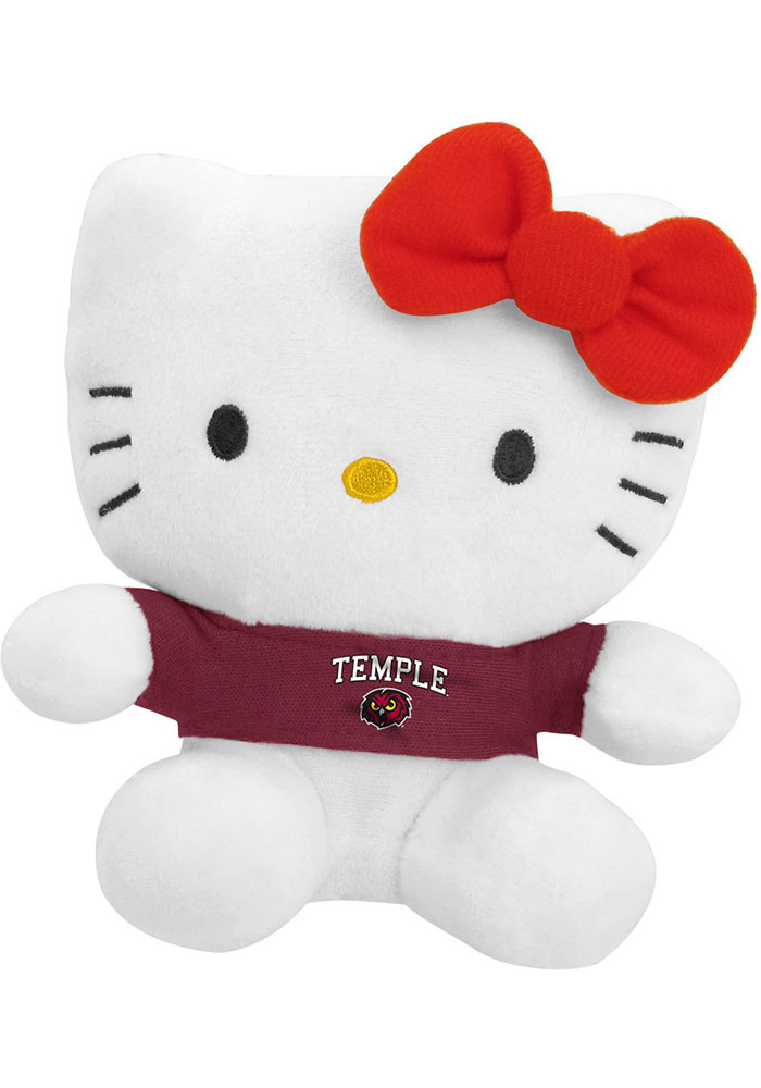 Temple Owls 6 Inch Hello Kitty Plush - Image 1
