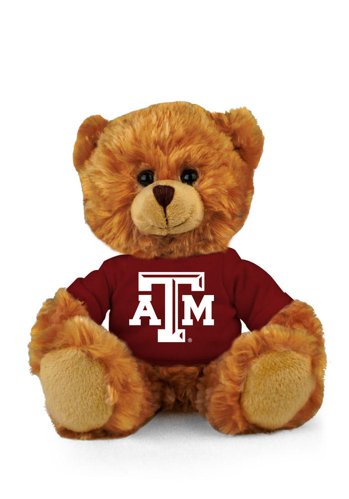 Texas A&M Aggies 6 Inch Jersey Bear Plush - Image 1