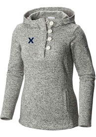 Columbia Xavier Musketeers Womens White Darling Days Hoodie