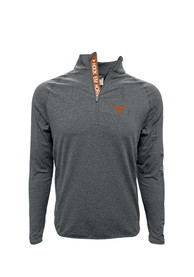 Texas Longhorns Metro 1/4 Zip Pullover - Charcoal