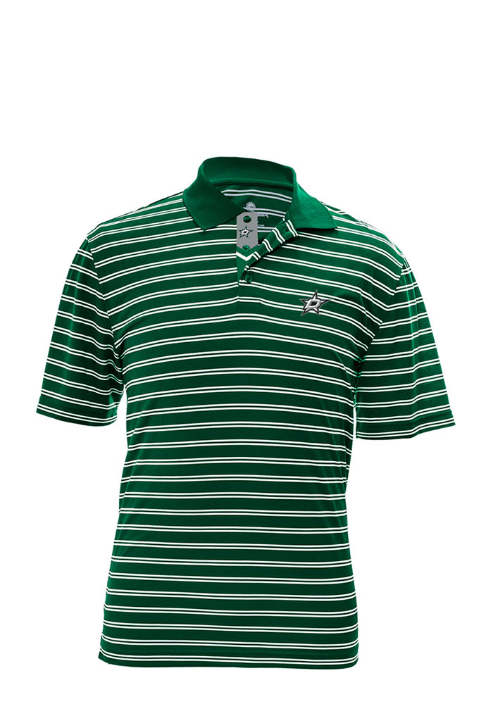 Dallas Stars Mens Green Manning Short Sleeve Polo - Image 1