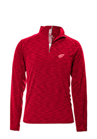 Detroit Red Wings Levelwear Mobilityt 1/4 Zip Pullover - Red