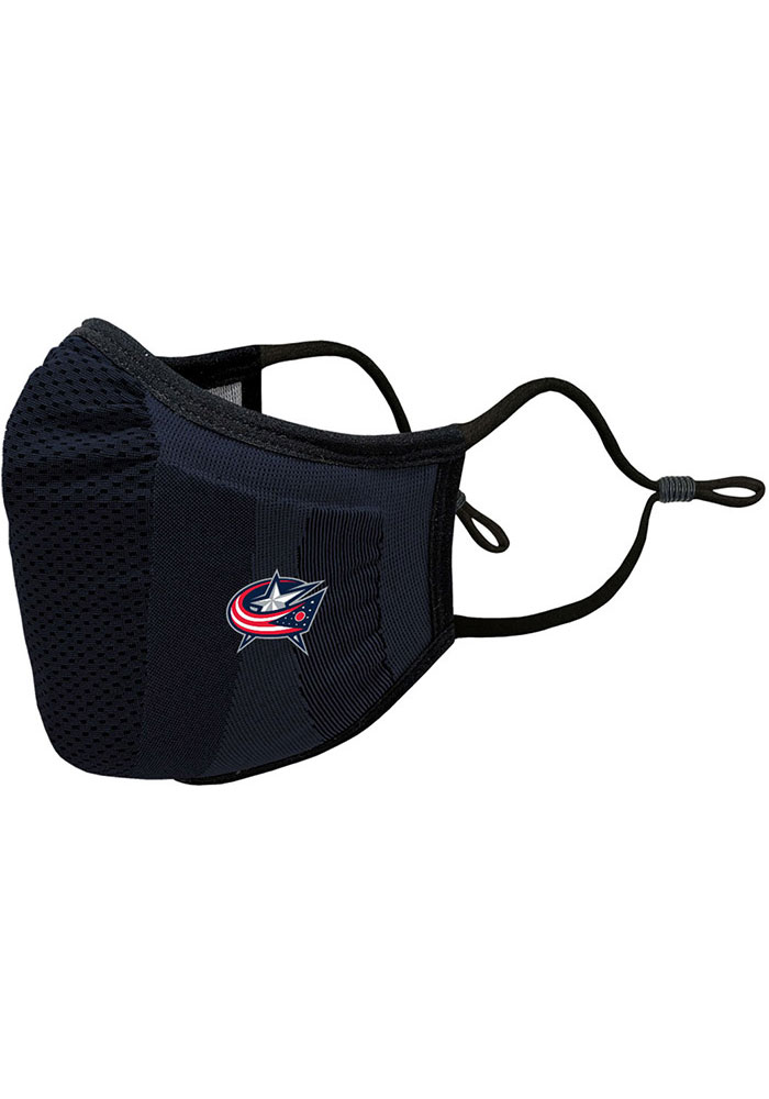 Columbus Blue Jackets Guard Single Pack Fan Mask - Navy Blue