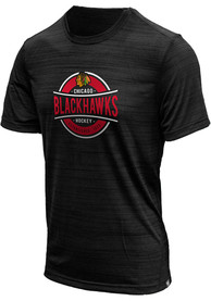 Chicago Blackhawks Levelwear Anchor T Shirt - Black