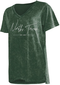 North Texas Mean Green Womens College T-Shirt - Green
