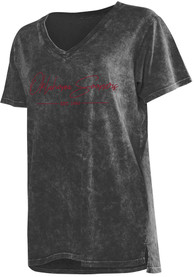 Oklahoma Sooners Womens College T-Shirt - Grey