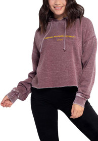 Central Michigan Chippewas Womens Campus Hooded Sweatshirt -