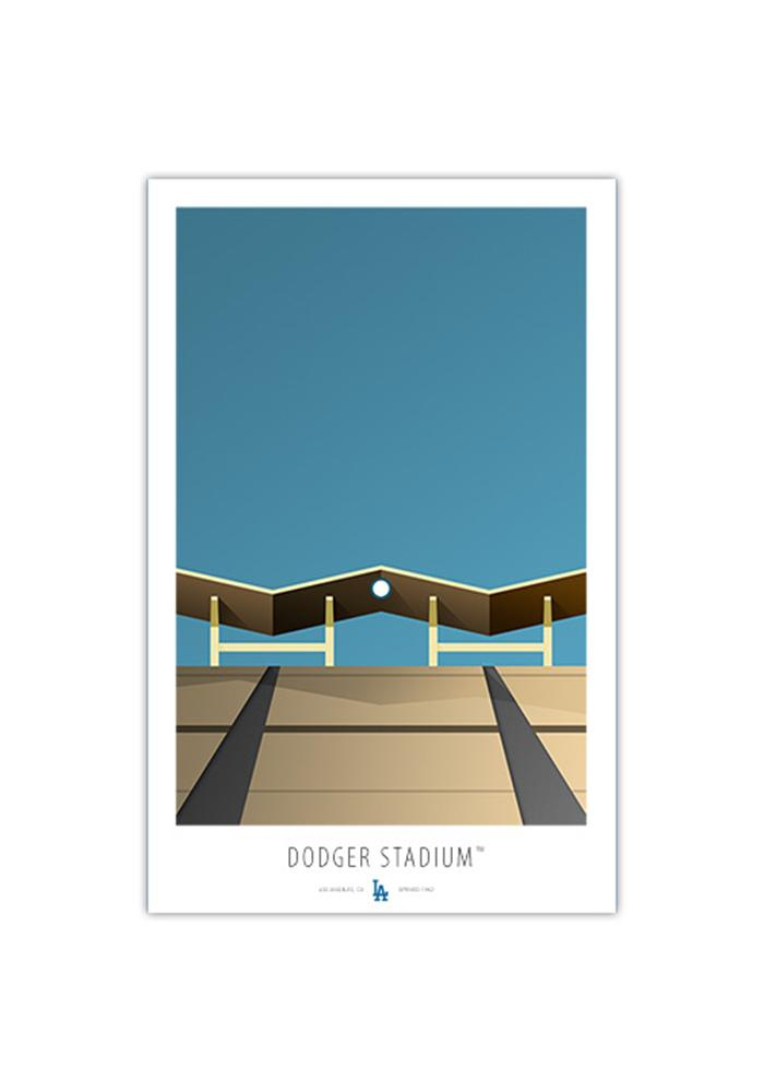 Los Angeles Dodgers Dodger Stadium 17x26 Ltd Ed Wall Art - Image 1
