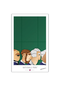 Washington Nationals Nationals Park 17x26 Lt Ed Ballpark Wall Art