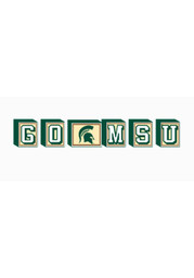 Michigan State Spartans Block Set Desk and Office Block Set