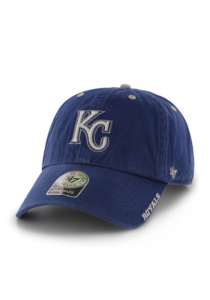 47 Kansas City Royals Ice Clean Up Adjustable Hat - Blue
