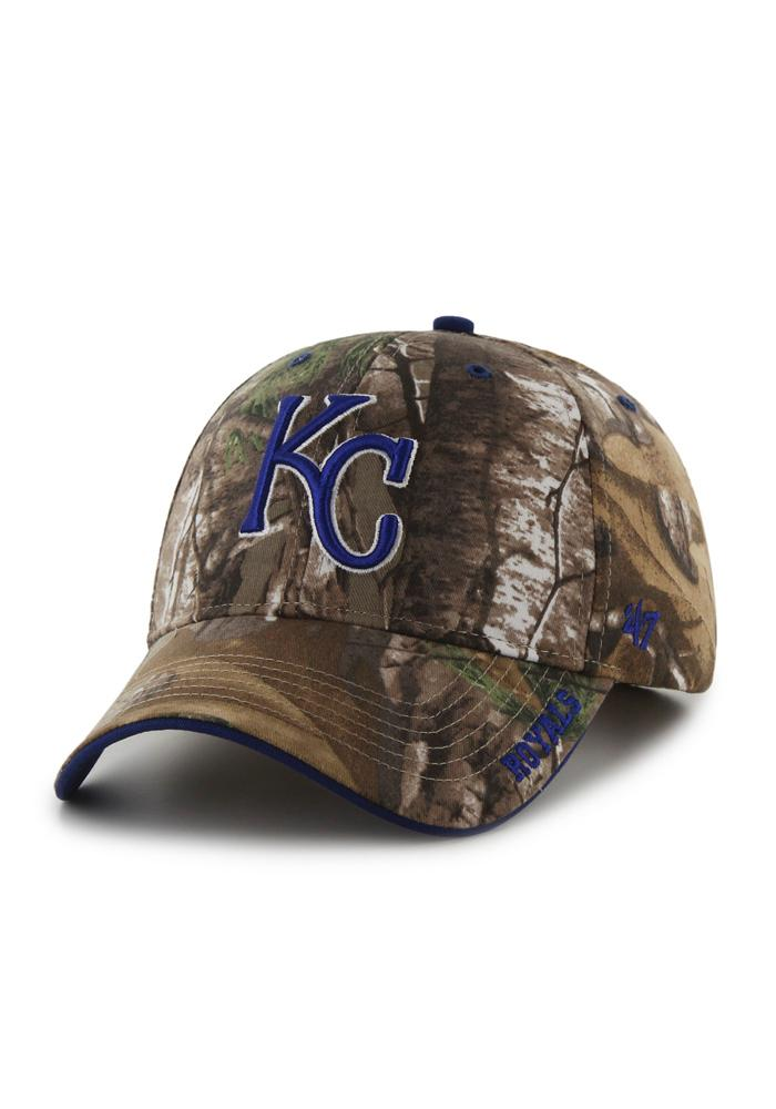 47 Kansas City Royals Realtree Frost Adjustable Hat - Green